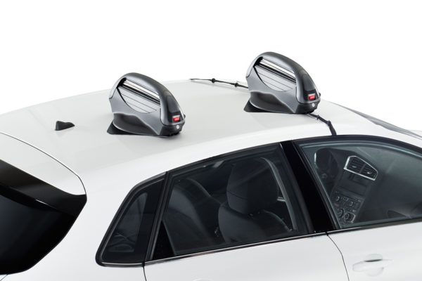 Portaesquís Magnetico Aconcagua 3.0 montado en coche