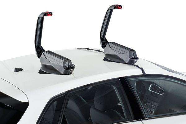 Portaesquís Magnetico Aconcagua 3.0 abierto montado en coche
