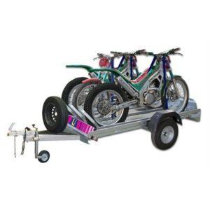 Remolque motos Urbeni 3 Motos Plataforma