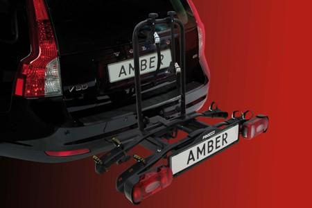 Portabicis Amber II en coche
