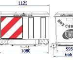 Portaequipajes Urbeni Box Carrier guías extensibles
