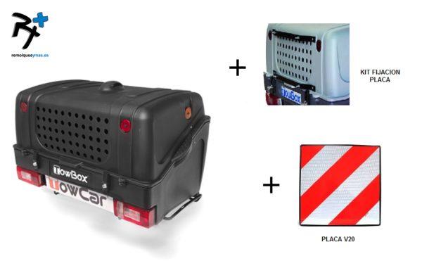 TowBox Dog V1 Black Edition +soporte + placa V20