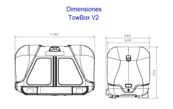 TowBox V2 dimensiones