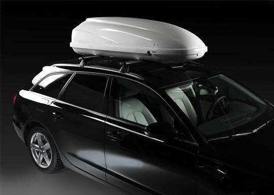 Cofre techo PIC.650 Blanco en coche