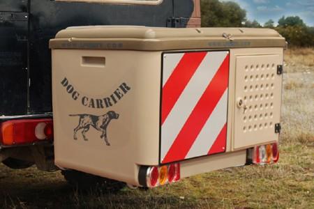 Dog Carrier color beige