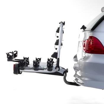 Portabicis Atera Strada DL4 montado en coche
