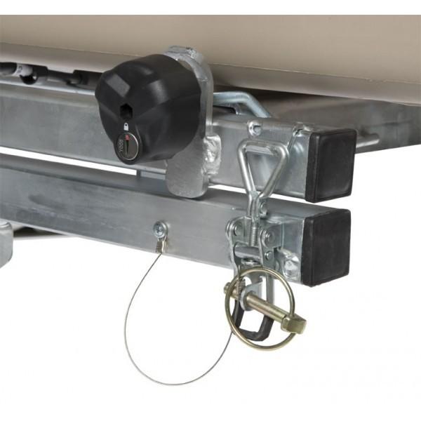 Urbeni plataforma giratoria detalle seguroso