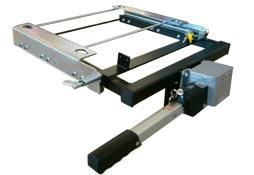Plataforma Carrier guias extensibles 4x4 de Urbeni