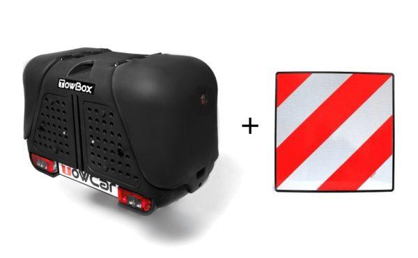 Portaperros TowBox V2 Dog Black edition + placa V20
