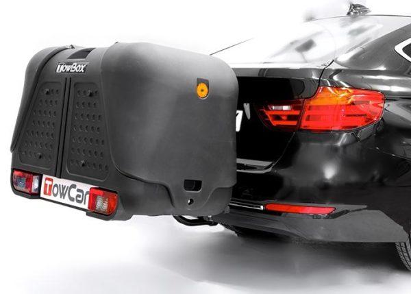 Portaperros V2 Dog Negro montado en coche