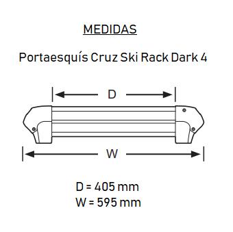 Medidas Ski Rack Dark 4