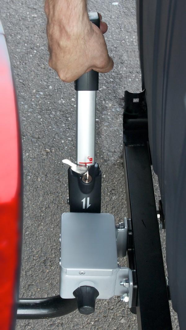 TowboxV2. detalle palanca enganche