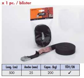 Slinga con ceñidor metálico 500cm