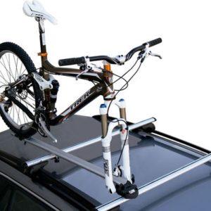 Portabicicletas techo Bike Pro con bici