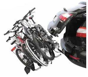 Portabicicletas Peruzzo Siena 4 con bicis