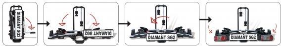 Diamant SG pasos montaje