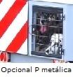 Puerta metálica Carrier
