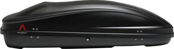 Cofre Spark 400 Negro grafito vista lateral