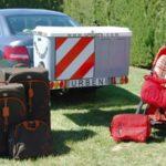 Box Carrier plataforma giratoria portaequipajes con equipaje