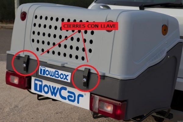Cierres con llave cajón Towbox V1