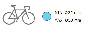 TowCar TR3 dimensiones cuadros bici soportados