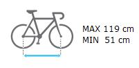 TowCar TR3 distancia max entre ejes bicicleta