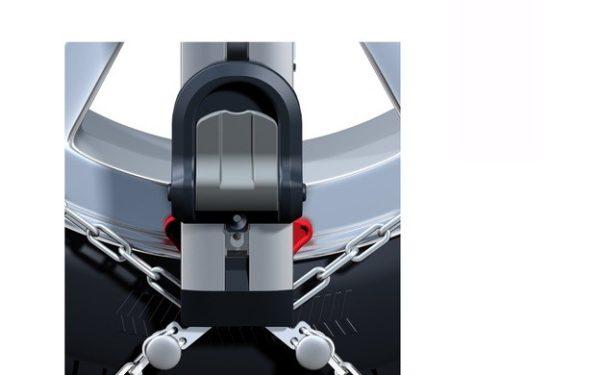 Cadenas nieve Thule Easy-Fit detalle pedal